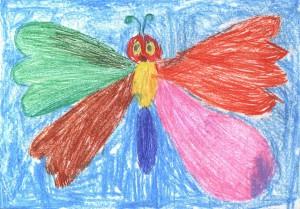 Бабочка. Рисунок_Юли_Зотова